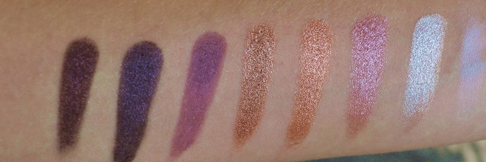 BBB Fortune Favors The Brave Palette von Make Up Revolution Swatches 4