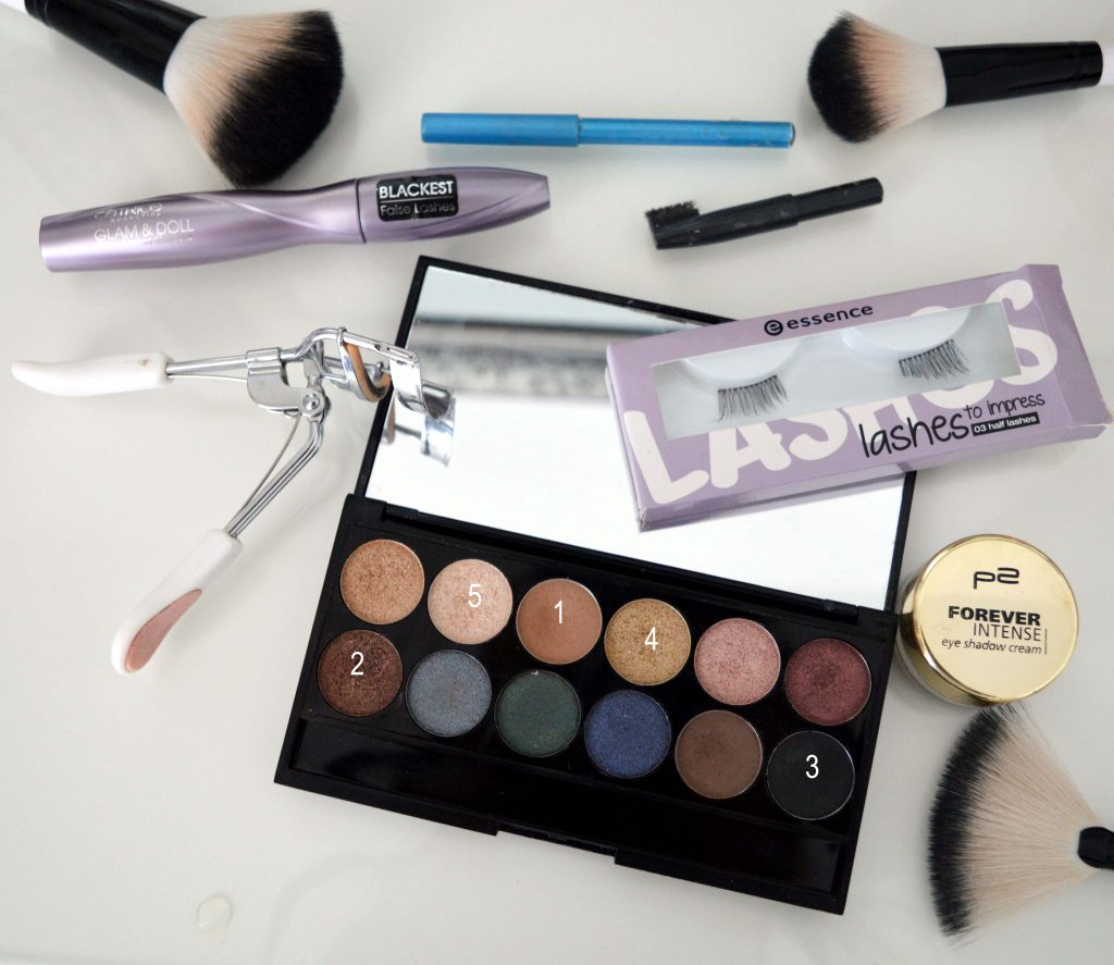 Produkte für Festival Make Up Look 1, Sleek iDevine Lidschatten Palette