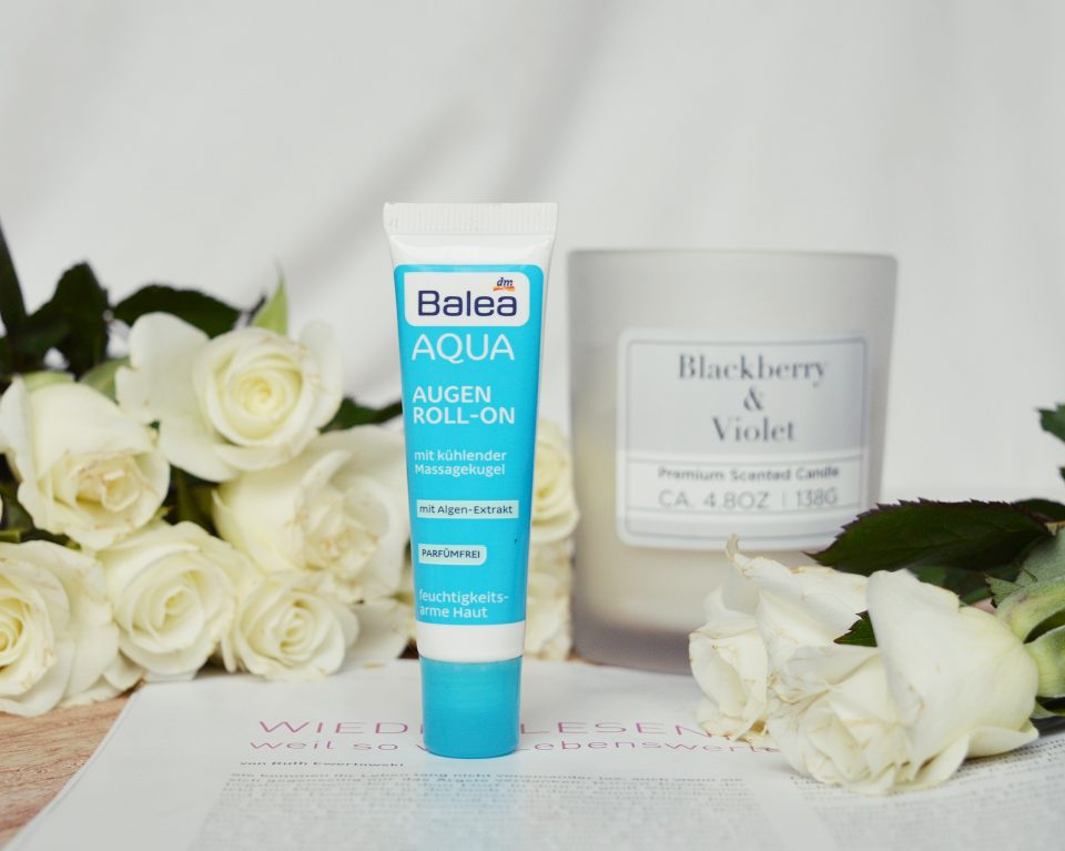 Beauty Favoriten: Balea Aqua Augen Roll-On