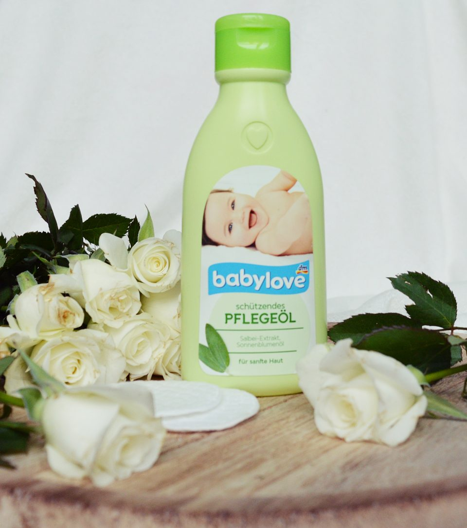 Beauty Favoriten: Babylove schützendes Pflegeöl dm