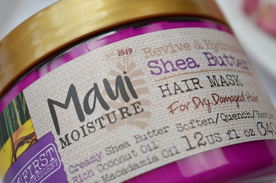 Maui Moisture Revive & Hydrate Shea Butter Hair Mask Review
